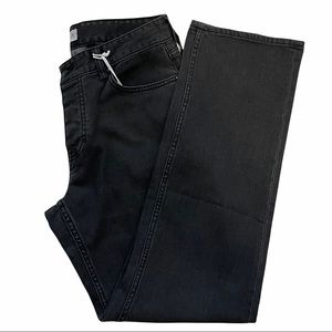 Five Four Will Relaxed Denim Jean Straight Leg Black Size 31